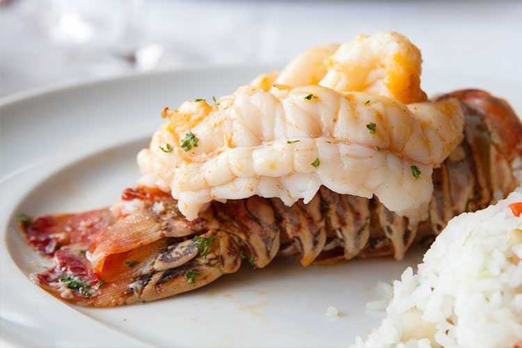 Sauteed Lobster Tails